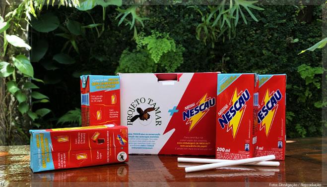 Para acabar com o plástico, Nestlé vai eliminar canudos do Nescau